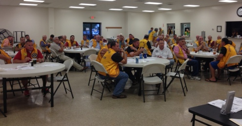 Members of the Pearland Lions Club