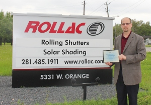 Rollac Shutter of Texas, Inc.